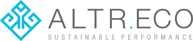 altr.eco sustainable performance logo